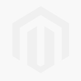 Pre-Owned 9ct White Gold Green Stone Fancy Wishbone Ring 4163194