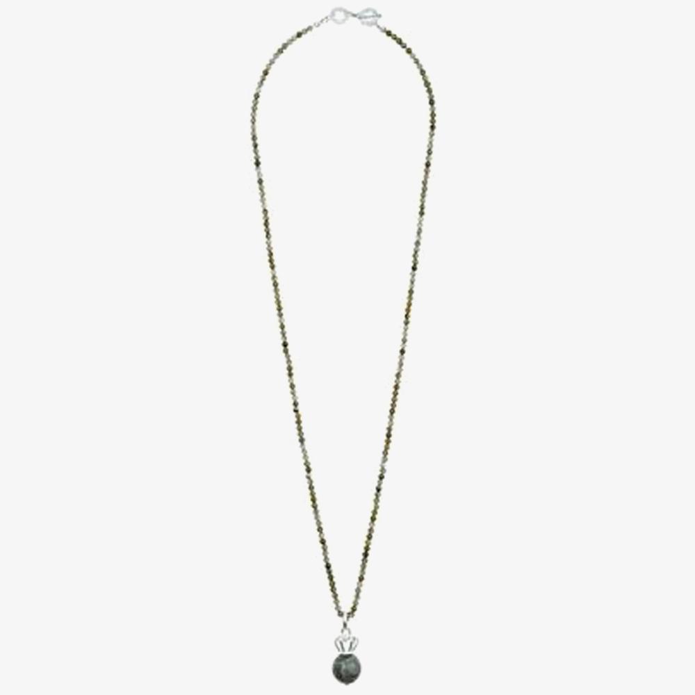 SENCE Bernadette Labradorite Crown Pendant V283