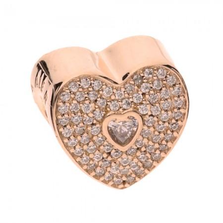 eeb9ed8628963 Pandora Rose Sweetheart Charm 781555CZ