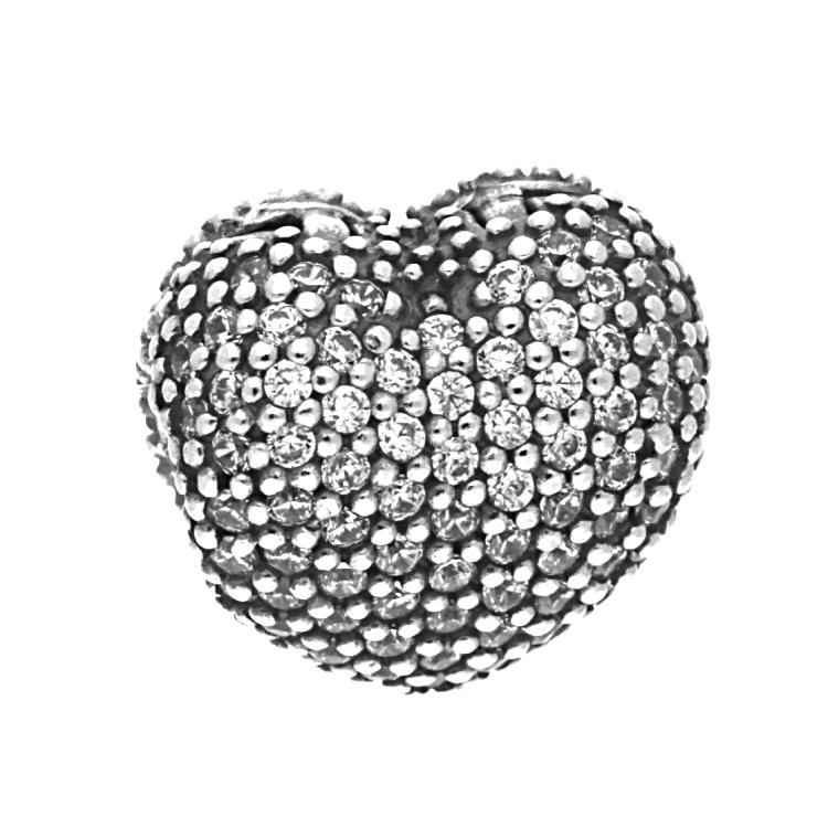 Pandora Pav 233 Open My Heart Clip 791427cz The Jewel Hut
