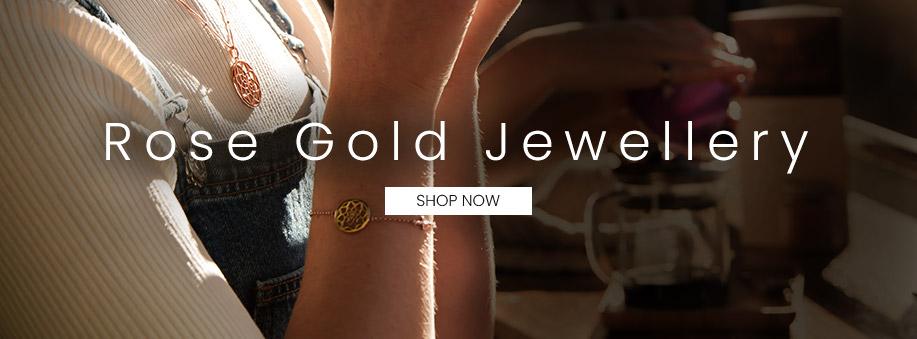 Ladies Rose Gold Jewellery